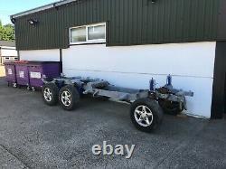 Range Rover Classic Triple Axle 6x6 6x4 Galvanised Chassis