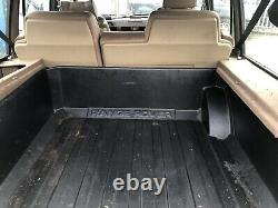 Range Rover Classic V8 Genuine Boot Liner Carpet Protector Tray Trim Rare 89-94