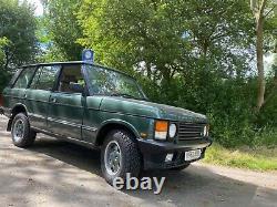Range Rover Classic Vogue LSE 1993 K 4.2 V8 GREEN OVER TAN