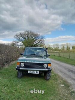Range Rover Classic Vogue Se. 19o3. Low Mileage