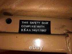 Range Rover Classic herringbone Front Seat New Old Stock Nos