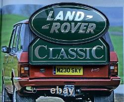 Range Rover Land Rover Classic Tailgate Badge