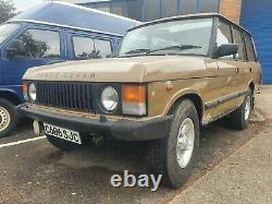 Range Rover classic 1985 3.5 V8 manual rare Heritage cet