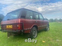 Range Rover classic 2.5 tdi mot, history genuine 200tdi