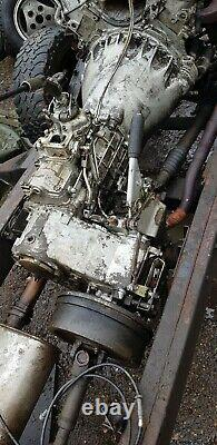 Range rover Classic Chassis 1985 V8, Longstick Lt77 Box
