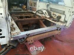 Range rover classic rear body tailgate crossmember ntc4717 spot welded mot