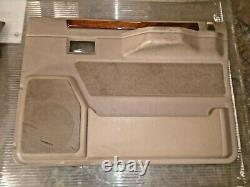 Range rover classic soft dash set front and rear door cards for spares cream