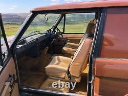 Range rover classic van