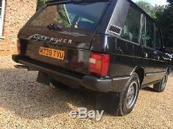 Rare Range Rover classic 300tdi auto soft dash restored Original Dry store mint